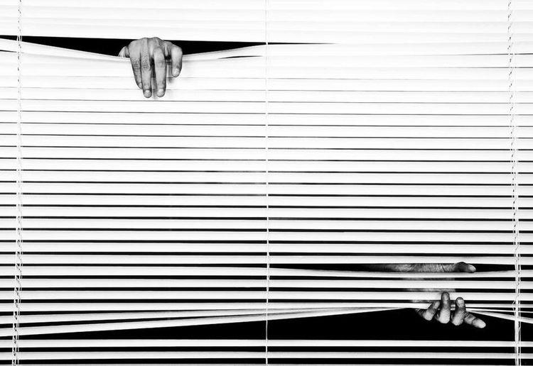 Blackandwhite Japan Self Portrait Brind Hand Interior Design Blackandwhite Photography