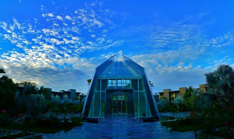Chapel Architecture Sky Building Exterior Blue Outdoors
