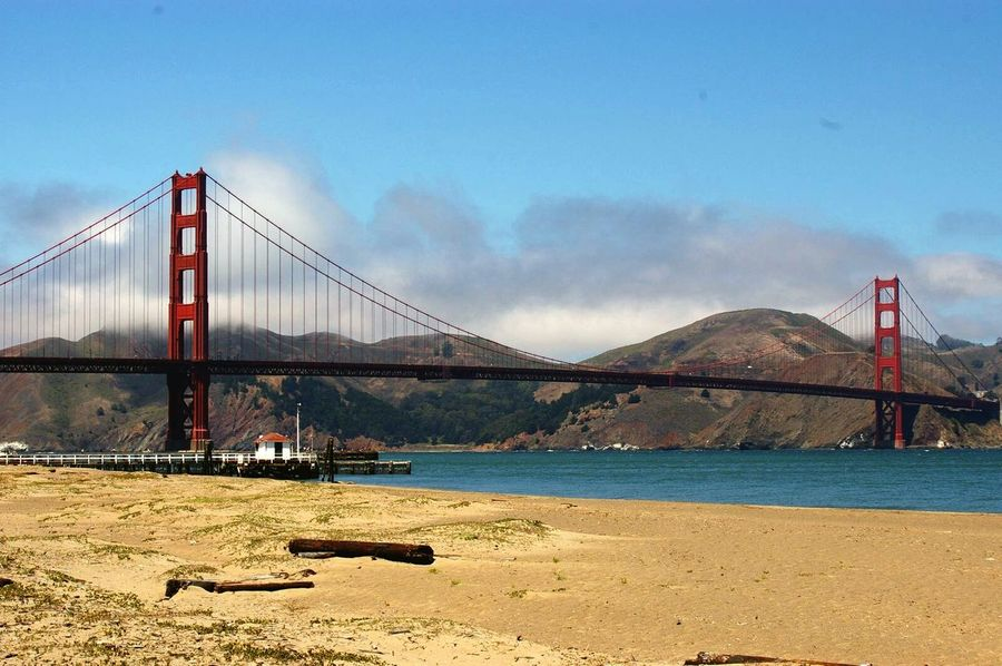 Golden Gate Bridge SanFranciscoBay San Francisco Travel Destinations