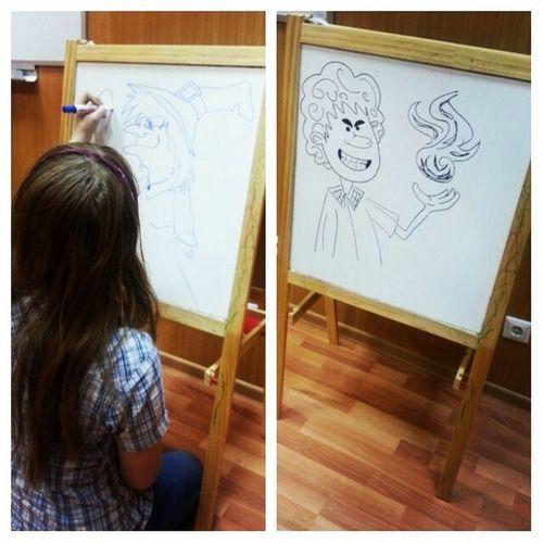 талантливая Катюша, она же Кот. School Talant Art Artist draw рисовашки художник талант школа катя