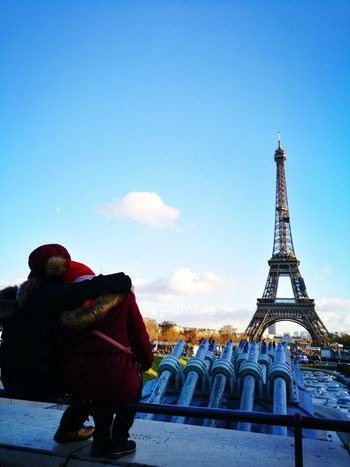 Eiffel in Love Eiffel Tower City Cityscape Sky Architecture Built Structure Tower