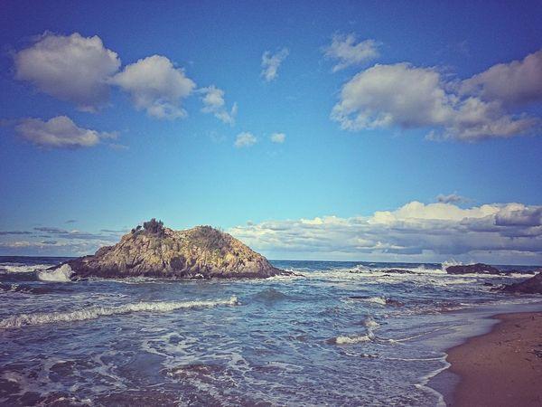 Sea Nature Beach Outdoors Beauty In Nature Blue Sky Blacksea Tirebolu
