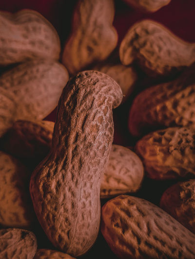 Full frame shot of peanuts