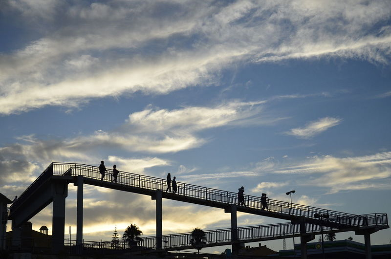 Backlightingphotography Backlight Backlighting Photography Backlit Backlit Sunset Bridge Photography Bridgescape Bridge Sunsets Sunset Silhouettes Sunset_collection Sunset And Clouds  Cloudscape Clouds And Sky