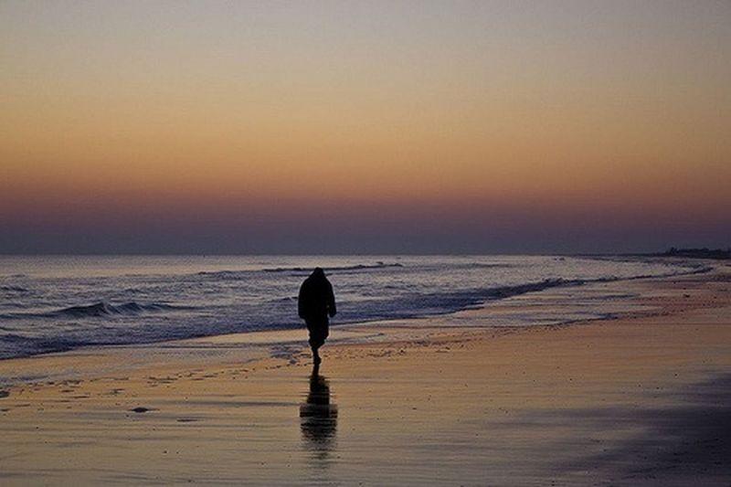 Alone , Sunset