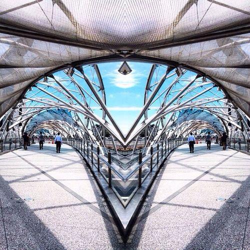 Building Bridge Public Singapore Mirror