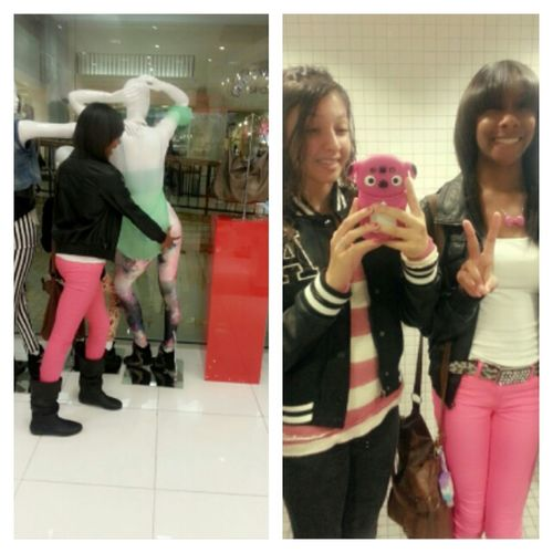 At The mall with my bestfriend ❤
