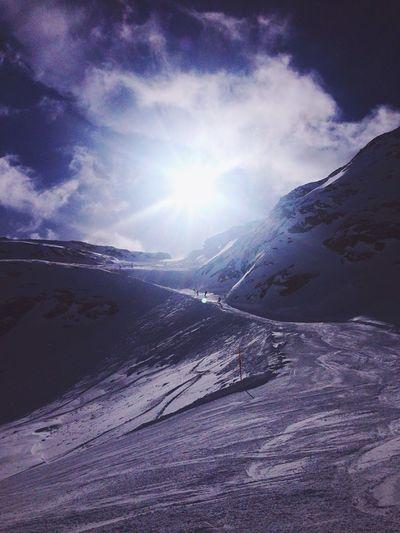 Skiing Snow Sun