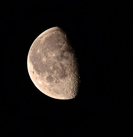 68% Full. Waning Gibbous. #moon Astronomy Beauty In Nature Black Background Circle Close-up Dark Discovery Luna Majestic Moon Moon Moon Shots Moon Surface Moonlight Night No People Scenics Sky Space Exploration Sphere Tranquil Scene Tranquility Waning Gibbous Waninggibbousmoon