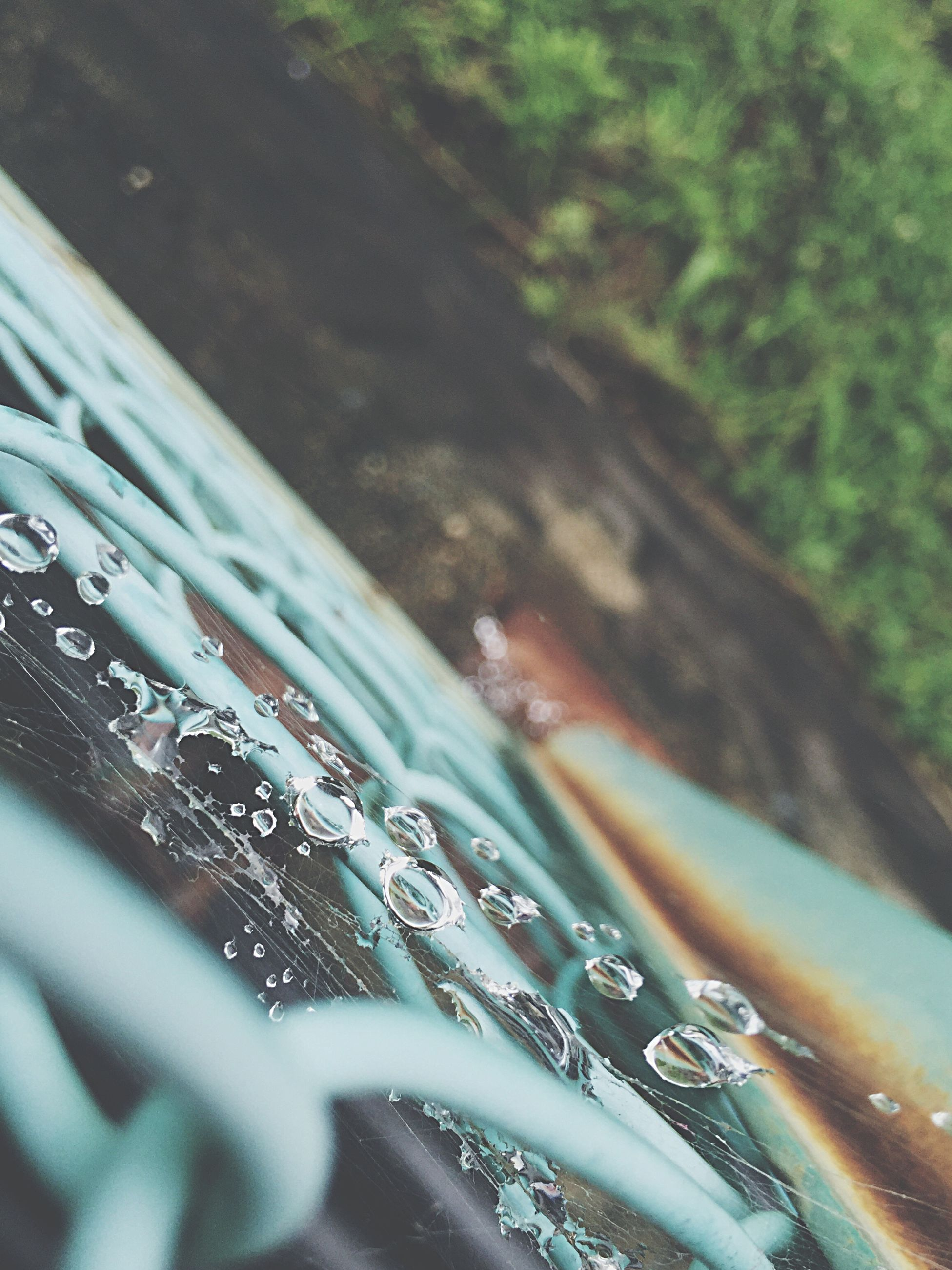 water, high angle view, nature, wet, transportation, day, reflection, outdoors, beauty in nature, tranquility, no people, drop, motion, selective focus, mode of transport, close-up, scenics, river, rain, sunlight