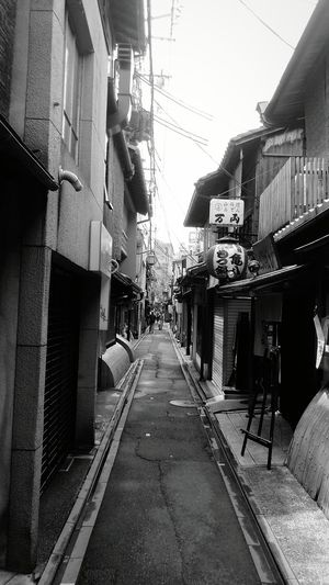 City No People The Way Forward Kyoto,japan Kyoto, Japan 先斗町 京都 Ponto-cho 路地裏 路地裏散歩