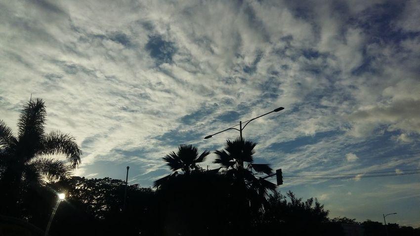 Original Photo City Sky And Clouds Manila, Philippines
