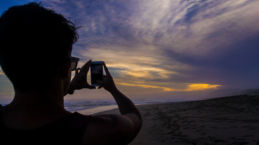Photography Themes One Person Sea Sunset Beach Outdoors Boy Sunset Love Purple Colours Photo Of A Photo Amazing South Africa African Beauty