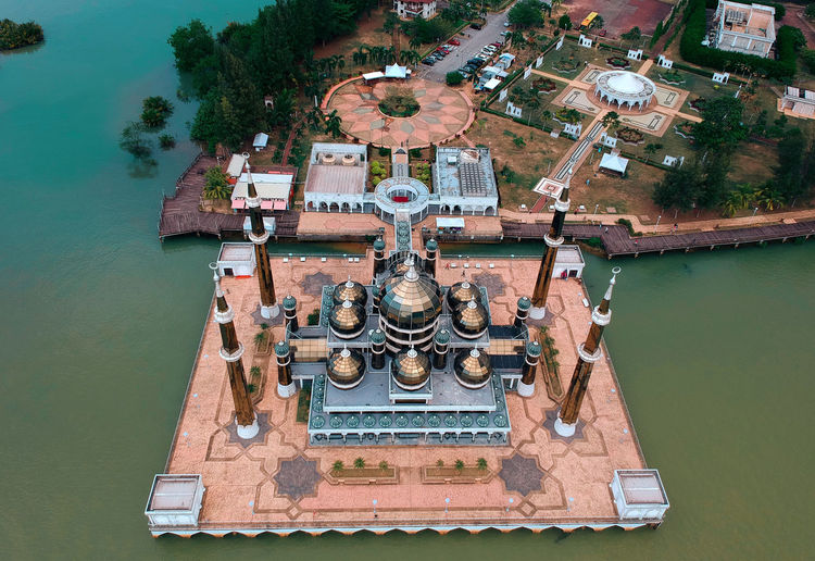 crystal mosque Dronephotography Drone  Birds Eye View Dji Spark Drone Shot Drone View Landscape Aerial Shot Aerial Perspective Aerialview Aerial Photo Aerial Silks Aerial Photography Close-up Day High Angle View Metal Mode Of Transportation Nature Nautical Vessel No People Old Outdoors River Rusty The Past Transportation Travel Water Cable-stayed Bridge Aerial View
