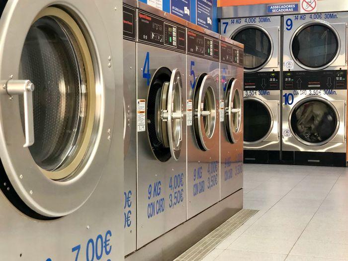 Rental washing machine in room
