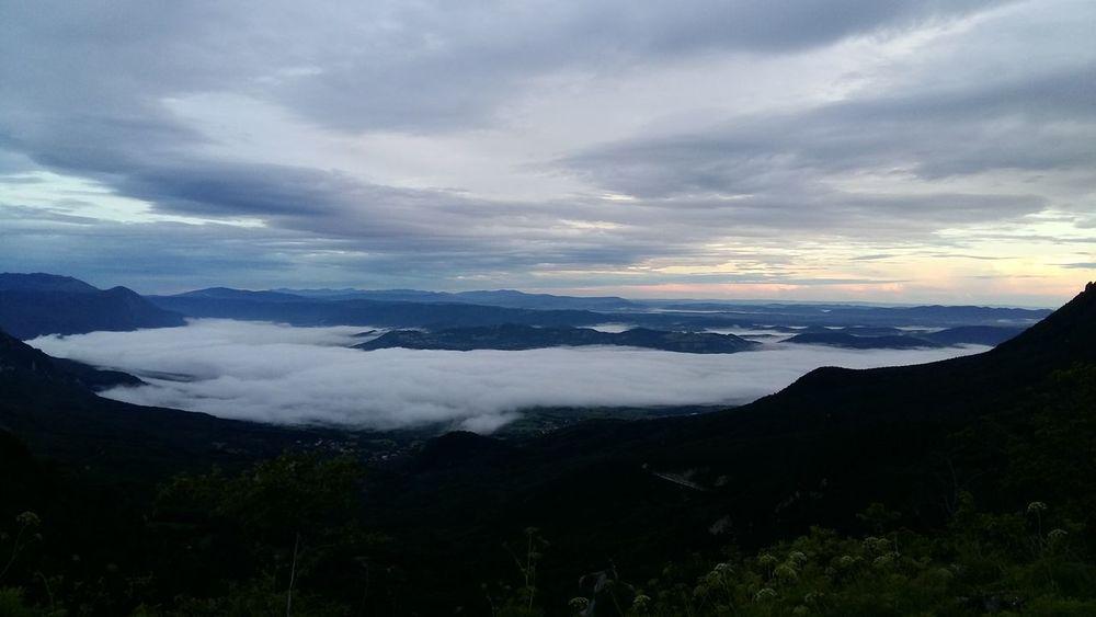 Morning Clouds And Sky Nature View Sunrise Phonecamera Samsung Galaxy A5 No Edit/no Filter