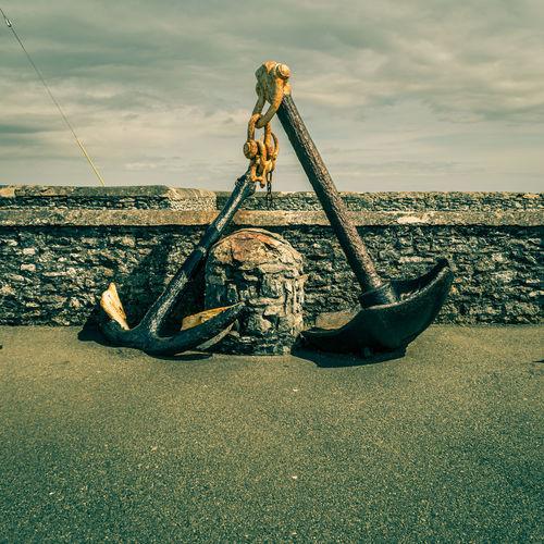 Anchor Day Hook Head, Ireland Ireland🍀 Metal Sculptures Seascape Vignette Wexford