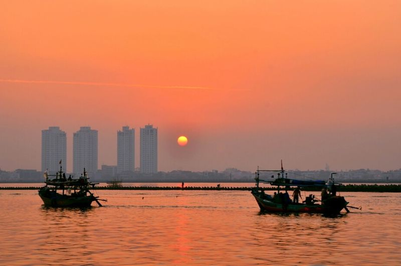 Early Departure Sunrise Nikon Sun_collection This Is Indonesia