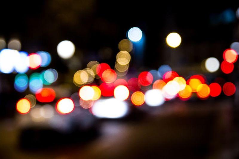 Barcelona city lights Taking Photos Bokeh Photooftheday Streetphotography EyeEm Bestsellers Market Bestsellers November 2016