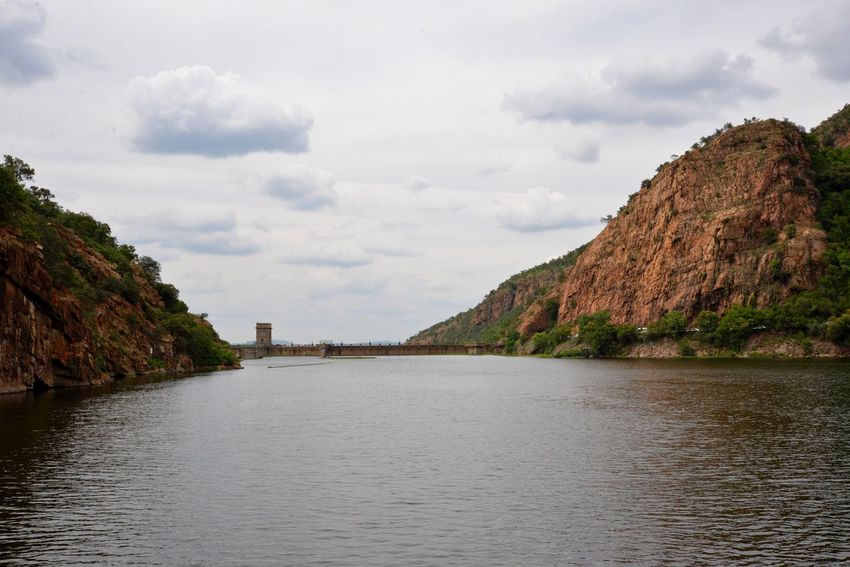 Dam wall Hartebeespoort Sky Nature Outdoors Cloud - Sky Mountain Scenics No People Day Sea Water Tranquility Travel Destinations Beauty In Nature Architecture Hartebeespoort Dam Hartebeespoort Harties Hartbeespoort Dam Wall South Africa Traveling