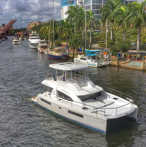 Fort Lauderdale Fort Lauderdale  Yachts Catamaran FtLauderdale River Boat Boating Yacht Florida