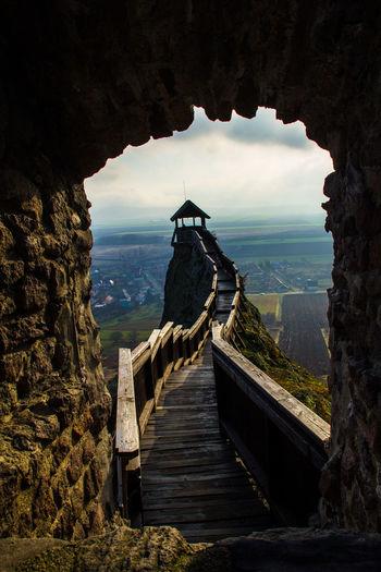 Borsod-Abaúj-Zemplén Castle Hungary Boldogko Castle Boldogkőváralja Landscape