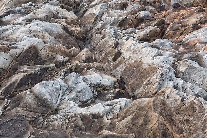 Full frame of rock formation