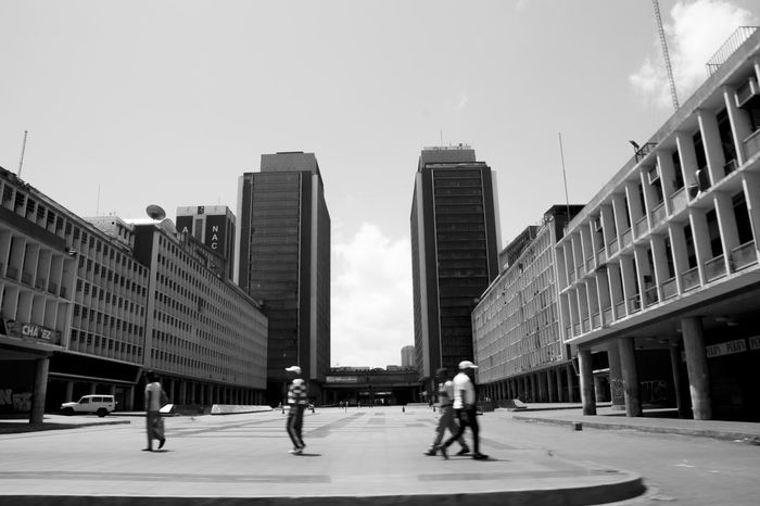 Architecture City Downtown District Modern City Life People Adults Only Sky Caracas Caracas City
