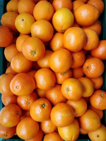When life gives you oranges, take a photo. Copy Space Fruit Backgrounds Market Citrus Fruit Full Frame Healthy Lifestyle Vitamin C Vitamin Orange Color Organic Tangerine Orange - Fruit Tropical Fruit Farmer Market