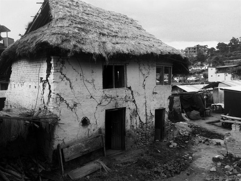 Check This Out IPhoneography Nepal Check This Out Old House Blackandwhite B&w EarthquakeNepal