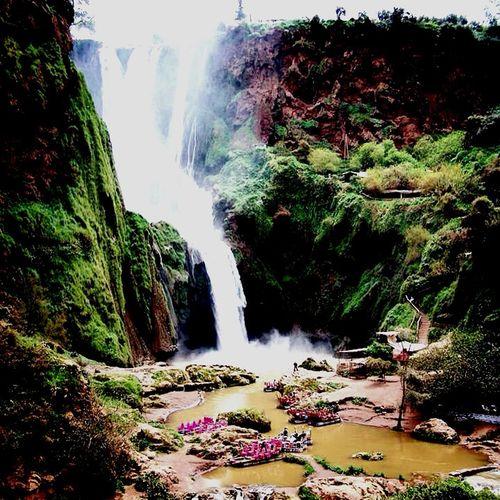 Ouzoud et ses merveilles Cascade Ouzoud Roadtrip Montagnesinges Africa