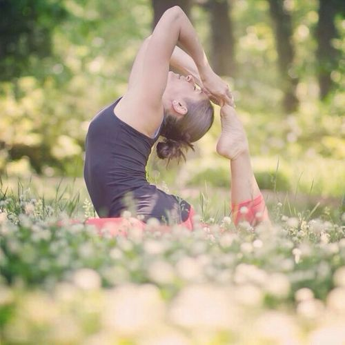 Yoga Photo Session at John Howell Park Yoga Fitness is an Art What Does Peace Look Like To You?