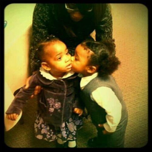 My Ethan giving Nala some love !
