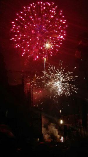 Fireworks in