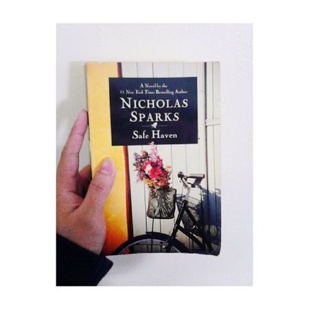 Currently reading. :) Safehaven Nicholassparks
