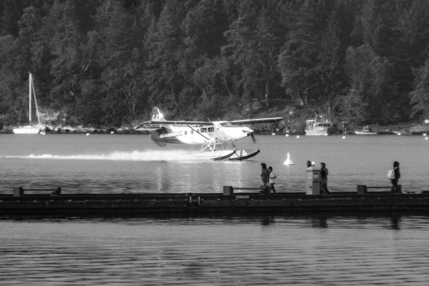 Water Real People River Tree Nautical Vessel Waterfront Nature Men Outdoors Large Group Of People Day Lifestyles Beauty In Nature Sky People Floatplane Travel Travel Destinations
