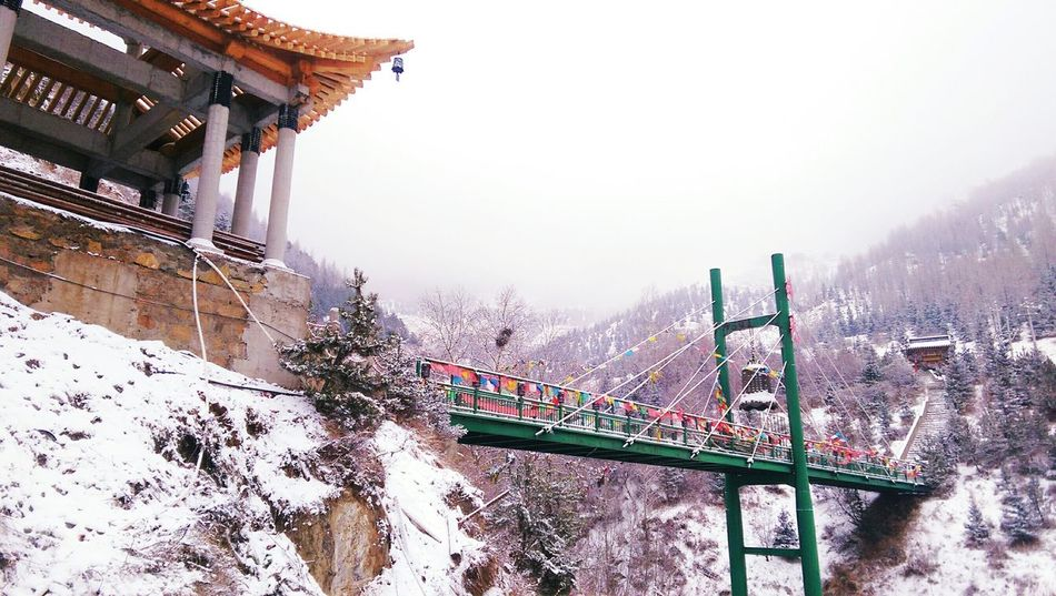 Travel Traveling Travel Photography The Traveler - 2015 EyeEm Awards China Beauty China Snow Budism Mountain_collection Budist Tempel Ancient Architecture Architecture Architecture_collection Bridge Exploring New Ground Mount Wutai Hello World Nature_collection EyeEm Nature Lover