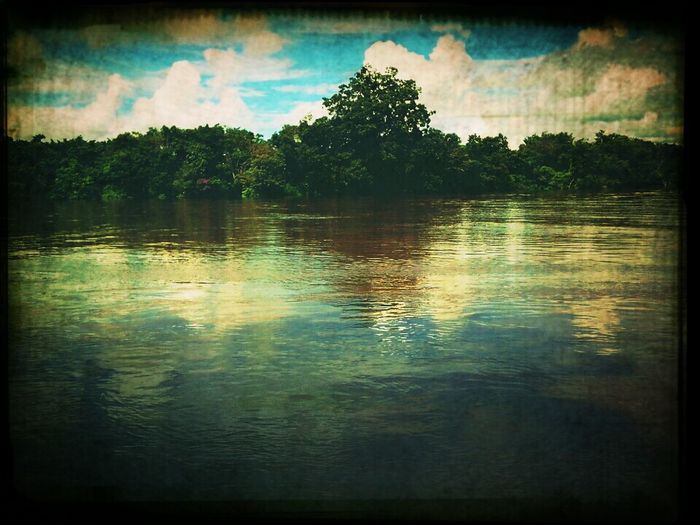 Kalimantan River (indonesia)