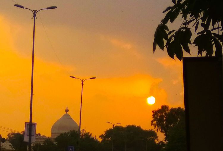Yudhvir New Delhi EyeEm Selects Sunset Sky Architecture