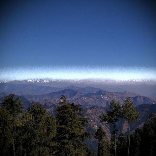 Scenery Shimla Kufri Hilltop Lehmountains Hillstation Nature Beauty