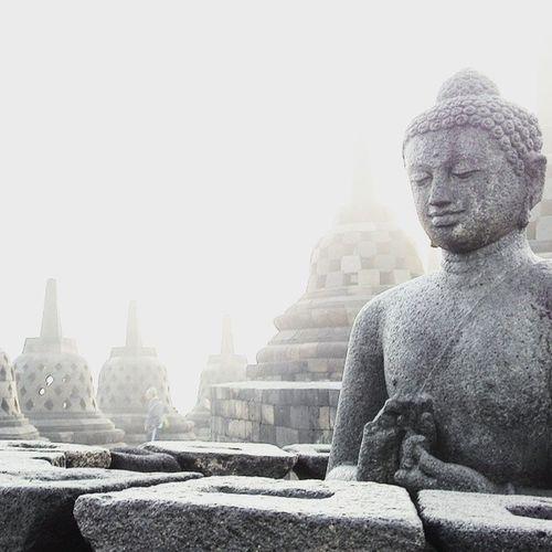 """""""Peace comes from within.Do not seek it without. ~ Buddha"""" Happy Vesak Day Vesakday Buddha Statue heritage photooftheday picoftheday Vesak VesakDay 2015 statue quotes inspirationalquotes photography spiritual innerpeace calm thankful Bali travelgram yogyakarta magelang borobudur"""