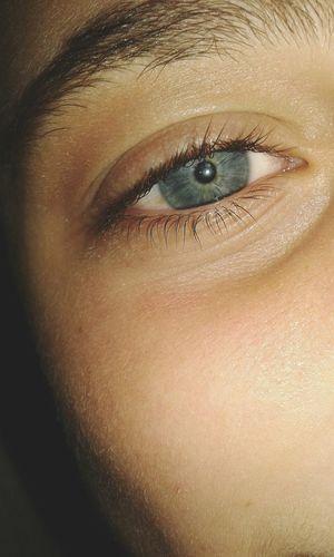 Relaxing Beatiful Eyes Blue Mirada  Azul Ojos Pupila Colors Brother