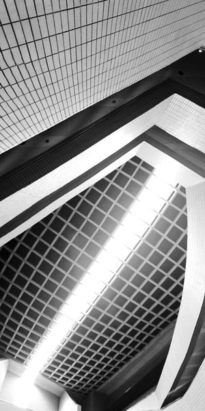 Architecture Architectural Design Low Angle View Geometric Shape Architecture And Art No People Design Architectural Feature Light And Shadow IPhoneography Another Perspective Abstract Pattern, Texture, Shape And Form Urban Geometry Vertical Panorama