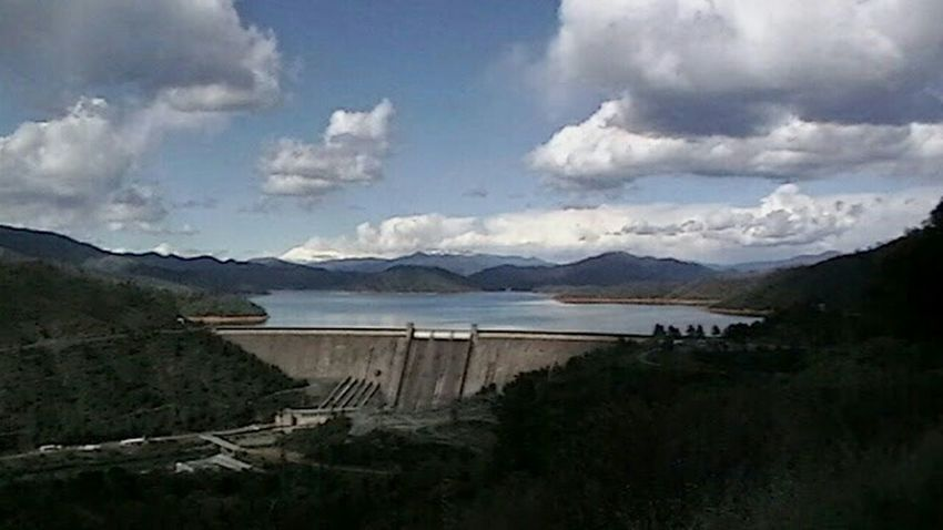 Creative Light And Shadow Shasta Dam Landscape Redding, Ca
