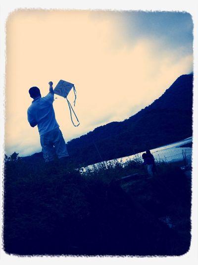 Kite flying :)