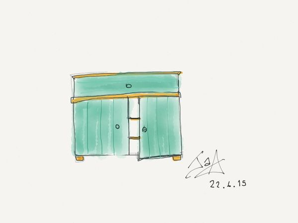 Drawing Drawing Paper53 Sketch Furniture Design Art, Drawing, Creativity Design