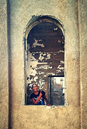 Abandoned & Derelict Abandoned Buildings Abandoned Church Urbexphotography Urbexexplorer Urbex_prestigious New Mexico New Mexico, USA In The Window That's Me! Big Smile Abandoned_junkies Travel Travel Photography