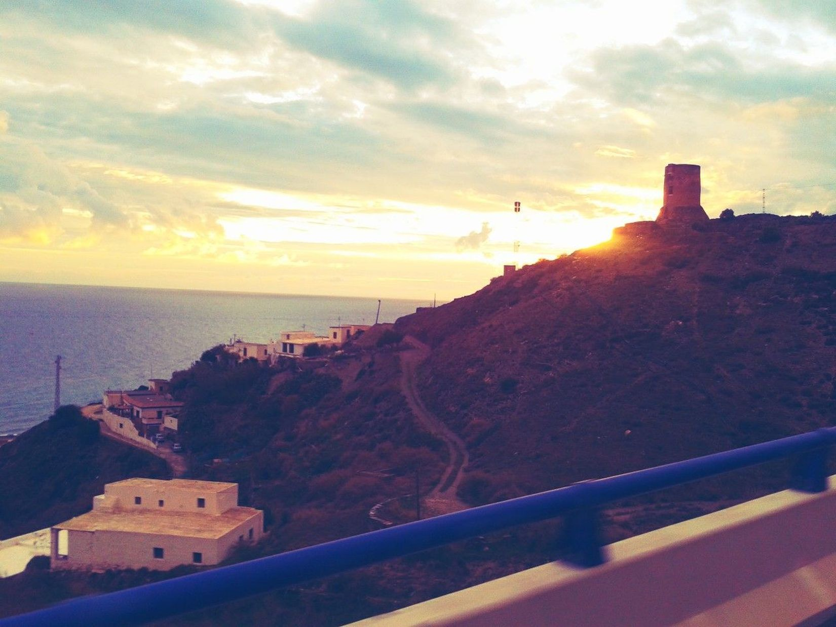 Torre Pueblo Costa Adra #Almería