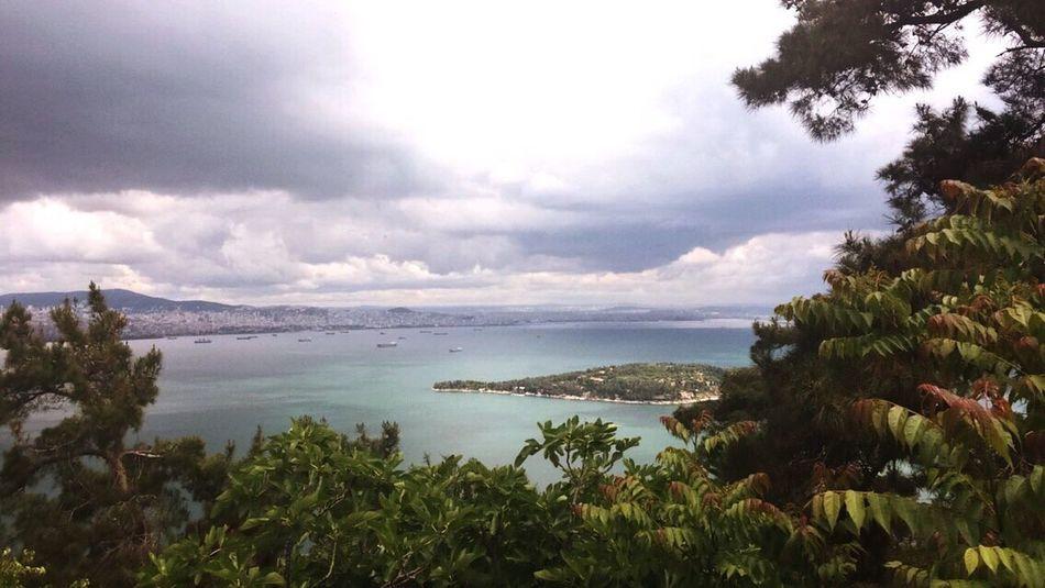 Istanbul Turkey Princess Island Sea And Sky Nature Serenity Ayayorgi