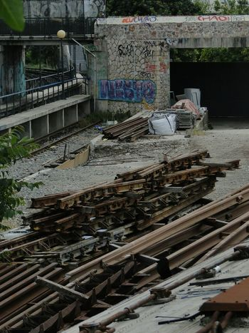 EEA3 - Athens EEA3 Train Tracks Rust Scrap Metal